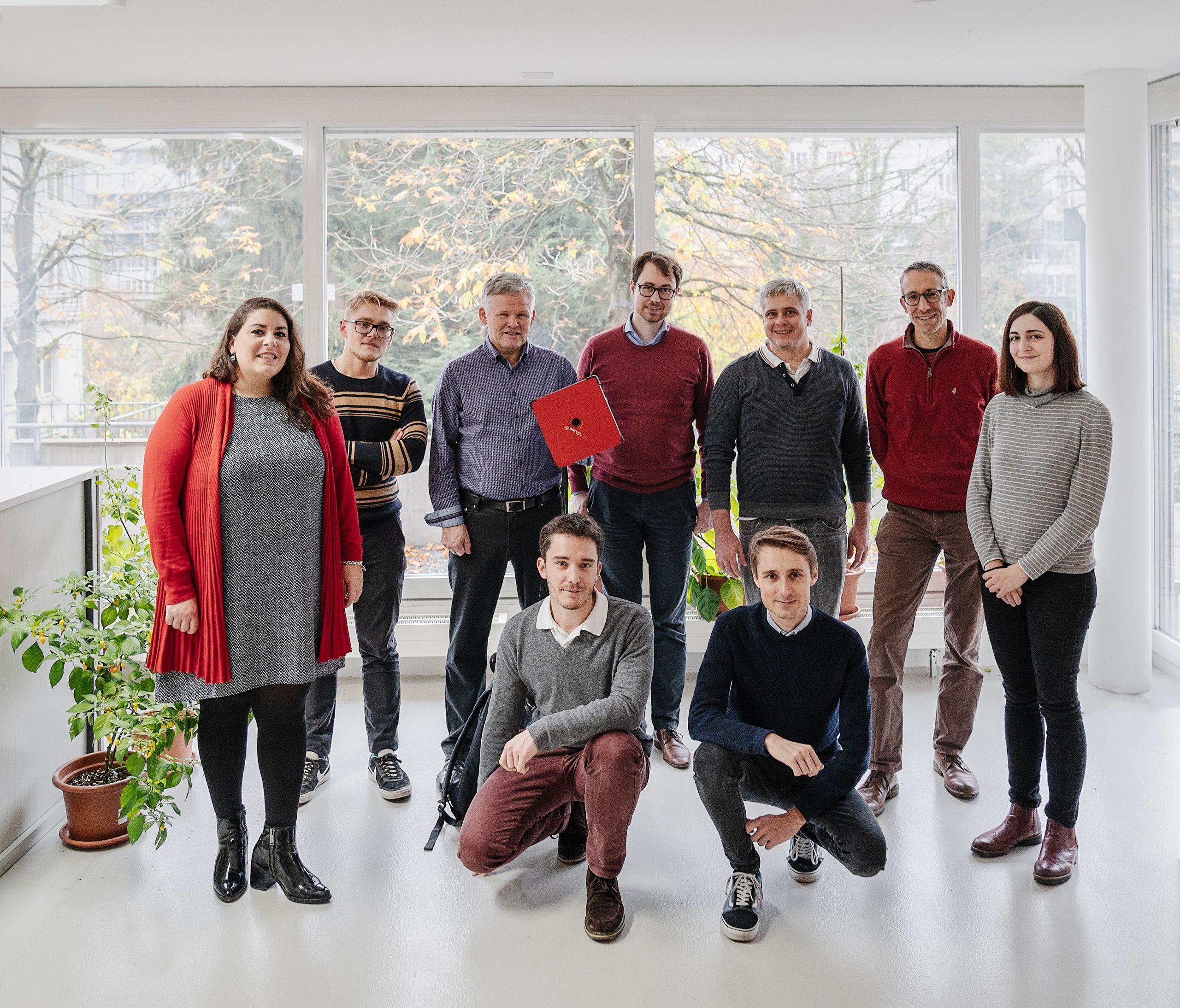 Distran team in Zürich