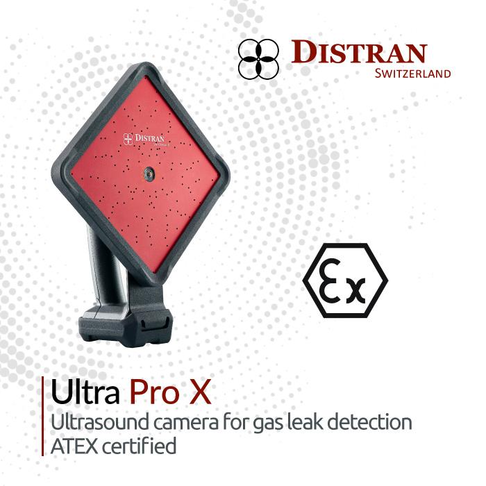 ATEX certified ultrasound camera
